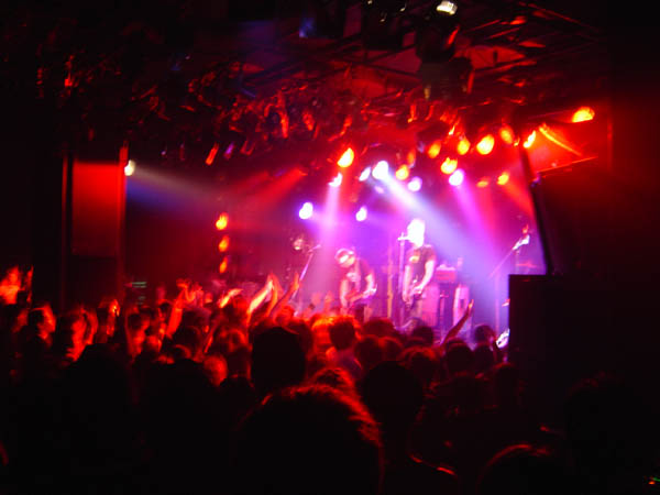 Club Quattro in downtown Shibuya - 2006 Japan Tour!